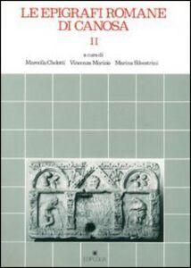 Le epigrafi romane di Canosa