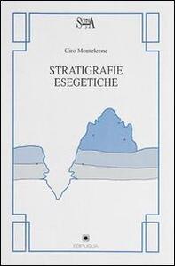 Stratigrafie esegetiche