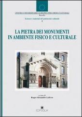 La pietra dei monumenti in ambiente fisico e culturale
