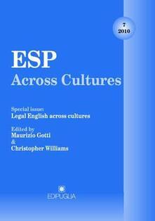 Camfeed.it ESP Across Cultures. 2010. Vol. 7 Image