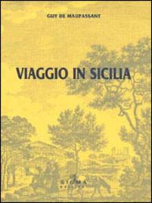 Viaggio in Sicilia - Guy de Maupassant - copertina
