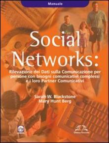Tegliowinterrun.it Social Networks. Rilevazione dei dati sulla Comunicazione per persone con bisogni comunicativi complessi e i loro partners comunicativi. Manuale Image