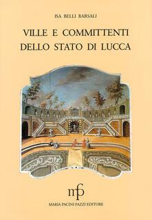 Ville e committenti dello Stato di Lucca
