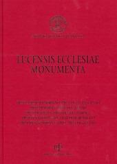Lucensis ecclesiae monumenta. Vol. 2