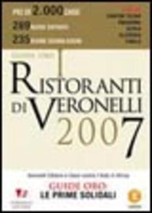 Voluntariadobaleares2014.es I ristoranti di Veronelli 2007 Image