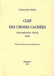 Amatigota.it Clef des choses cachées (Absconditorum clavis) Image
