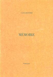 Mémoire pour le Comte Cagliostro
