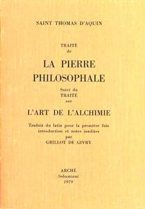 Traité de la pierre philosophale-L'art de l'alchimie (rist. anast. 1898)