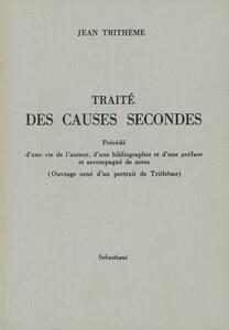 Traité des causes secondes (rist. anast. 1897)