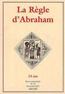 La Règle dAbraham. Vol. 32.pdf