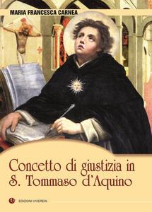 Concetto di giustizia in S. Tommaso d'Aquino