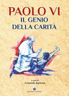 Paolo VI il genio della carità - copertina