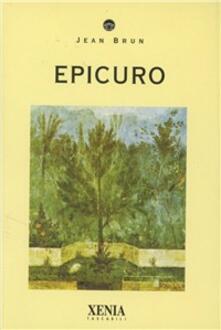 Epicuro - Jean Brun - copertina