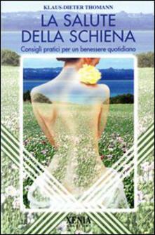 Camfeed.it La salute della schiena. Consigli pratici per un benessere quotidiano Image