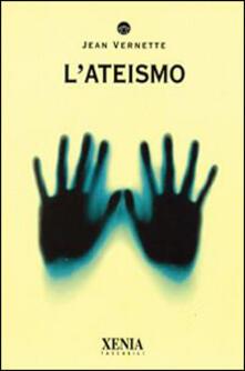L' ateismo - Jean Vernette - copertina