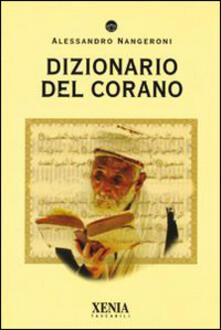 Dizionario del Corano - Alessandro Nangeroni - copertina