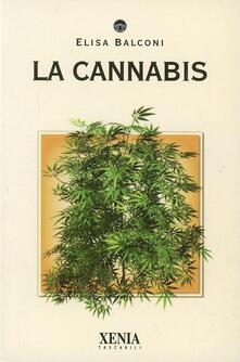 La cannabis - Elisa Balconi - copertina