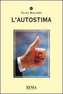 L' autostima - Elisa Balconi - copertina