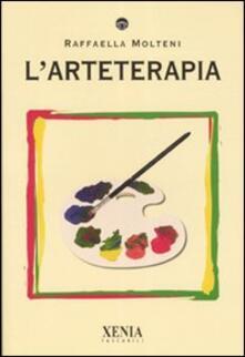 L' arteterapia - Raffaella Molteni - copertina