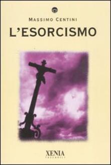 L' esorcismo - Massimo Centini - copertina