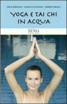 Antondemarirreguera.es Yoga e tai chi in acqua Image