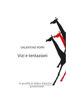 Vizi e tentazioni - Valentino Poppi - copertina
