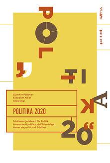 Premioquesti.it Politika 2020. Südtiroler Jahrbuch für Politik. Ediz. tedesca, italiana e inglese Image