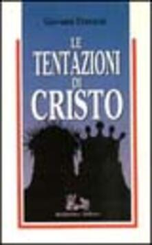Le tentazioni di Cristo - Giovanni Franzoni - copertina