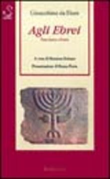 Camfeed.it Agli ebrei Image