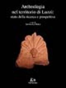 Archeologia nel territorio di Luzzi. Stato della ricerca e prospettive - copertina