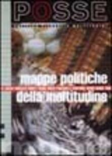 Mappe politiche della moltitudine - copertina