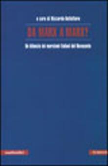 Da Marx a Marx. Un bilancio dei marxismi italiani del Novecento - copertina
