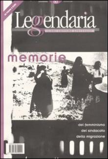 Leggendaria. Vol. 60: Memorie. - copertina