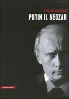 Putin il neozar - Osvaldo Sanguigni - copertina