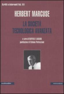 Scritti e interventi. Vol. 3: La società tecnologica avanzata. - Herbert Marcuse - copertina