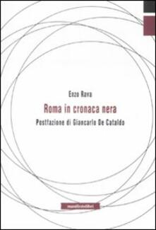 Roma in cronaca nera - Enzo Rava - copertina