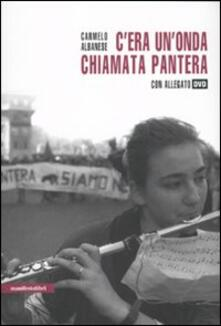 C'era un'onda chiamata Pantera. Con DVD - Carmelo Albanese - copertina