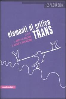 Elementi di critica trans - copertina