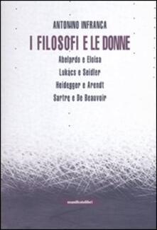 I filosofi e le donne - Antonino Infranca - copertina