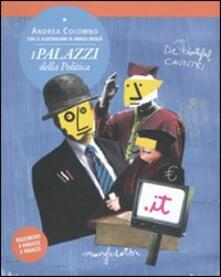 I palazzi della politica - Andrea Colombo - copertina