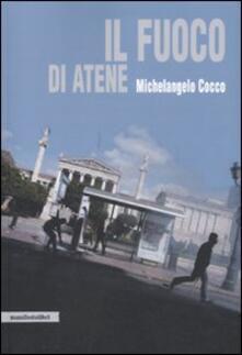 Il fuoco di Atene - Michelangelo Cocco - copertina