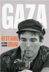 Copertina  Gaza : restiamo  umani