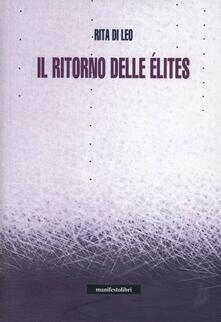 Il ritorno delle élites - Rita Di Leo - copertina