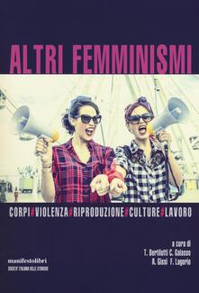 Letterarioprimopiano.it Altri femminismi. Corpi, violenza, riproduzione, culture, lavoro Image