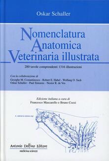 Nomenclatura anatomica veterinaria illustrata - Oskar Schaller - copertina