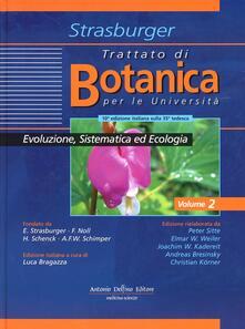 Trattato di botanica. Vol. 2: Evoluzione sistematica ed ecologia. - Eduard Strasburger - copertina