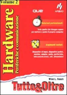 Recuperandoiltempo.it Hardware. Vol. 2: Periferiche e comunicazione. Image