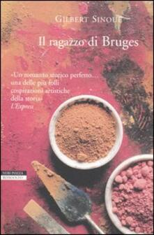 Il ragazzo di Bruges - Gilbert Sinoué - copertina