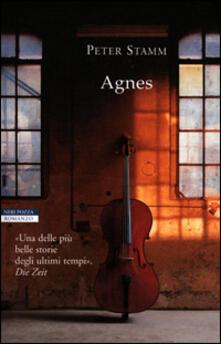 Agnes - Peter Stamm - copertina