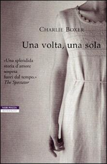 Una volta, una sola - Charlie Boxer - copertina